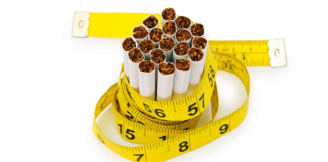 roken, aankomen en weer afvallen