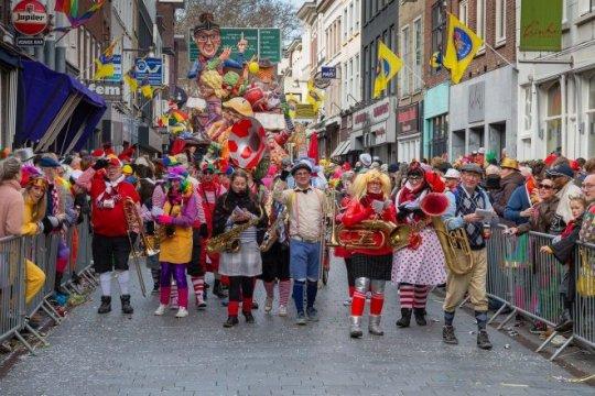 Gestopt blijven tijdens carnaval