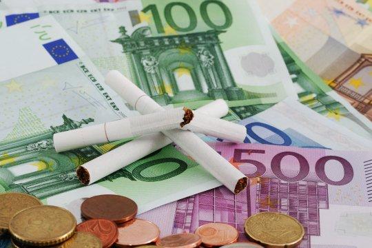 Geld besparen stoppen met roken
