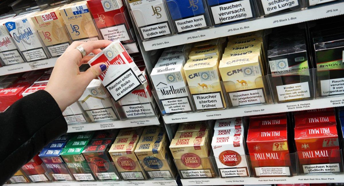Sigaretten uit het zicht in supermarkten