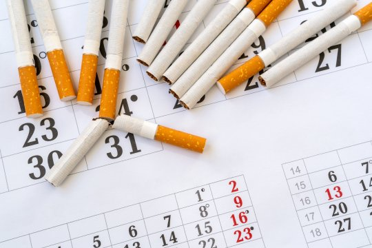 Stopdatum stoppen met roken tips