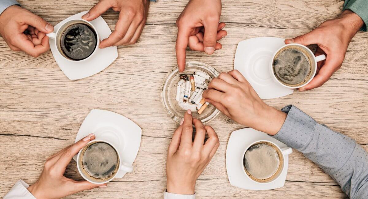 Koffie en roken