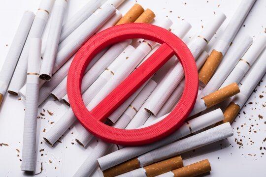 Rookruimtes verboden