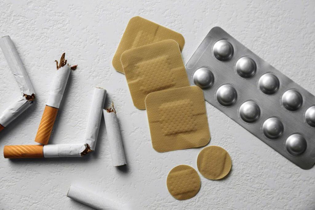 Hulpmiddelen en stopmethodes stoppen met roken