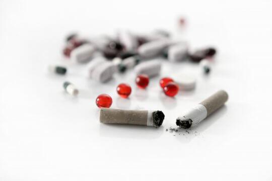 Medicijnen stoppen met roken